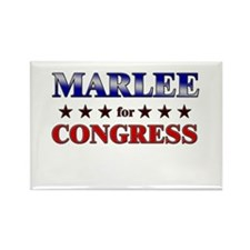 MARLEE for congress Rectangle Magnet