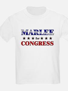 MARLEE for congress T-Shirt