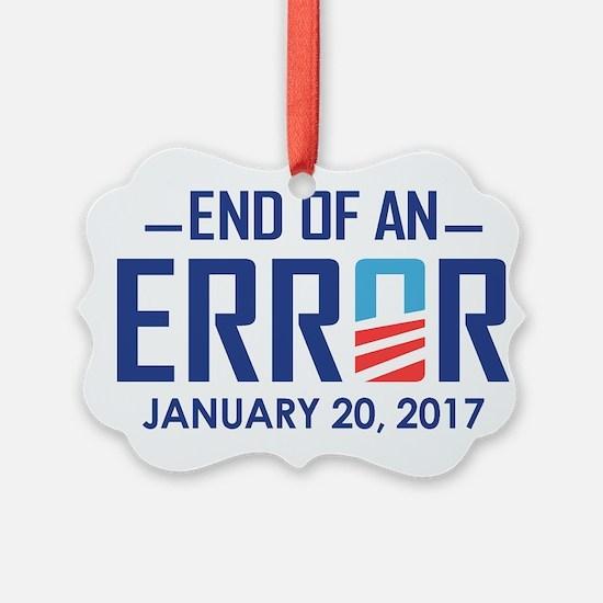 End Of An Error Ornament