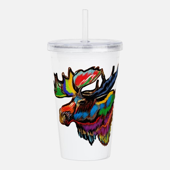 MOOSE Acrylic Double-wall Tumbler
