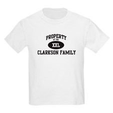 Property of Clarkson Family T-Shirt