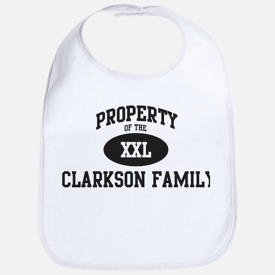 Property of Clarkson Family Bib