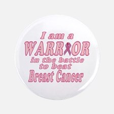 Warrior Against Breast Cancer Lge Button
