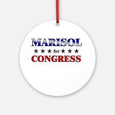 MARISOL for congress Ornament (Round)