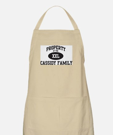 Property of Cassidy Family BBQ Apron