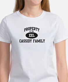 Property of Cassidy Family Tee