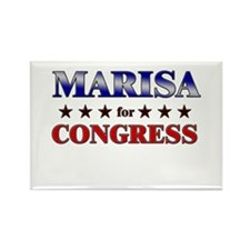 MARISA for congress Rectangle Magnet
