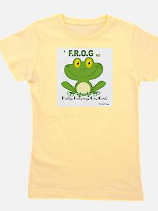 Cute Frog Girl's Tee