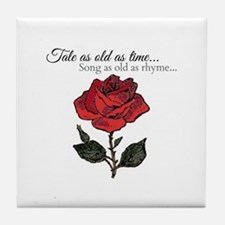 Song As Old As Rhyme Tile Coaster