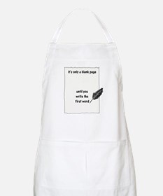 Blank Page BBQ Apron