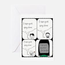 Unique Quit smoking Greeting Card