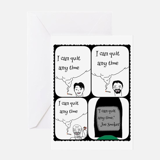 Unique Cigarette Greeting Card