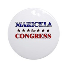 MARICELA for congress Ornament (Round)