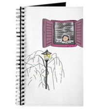 Cute Girl alone Journal