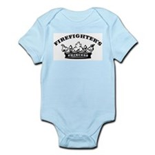 Firefighter's Princess Infant Bodysuit