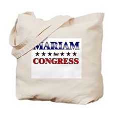 MARIAM for congress Tote Bag