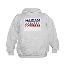 MARIAM for congress Hoodie