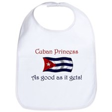 Cuban Princess Bib