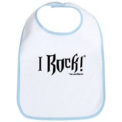 I Rock (On Medium) Bib