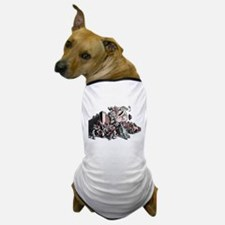Humpty Dumpty in Business Suit Dog T-Shirt