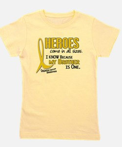 Funny Childhood cancer ribbon Girl's Tee