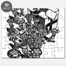Gift of International Food Puzzle