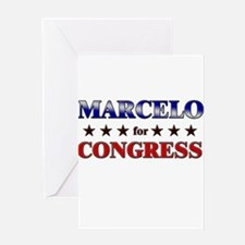MARCELO for congress Greeting Card