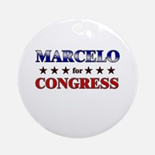 MARCELO for congress Ornament (Round)