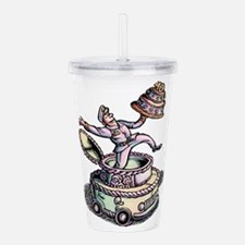 Cake Delivery Man in C Acrylic Double-wall Tumbler