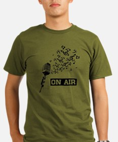 SimpleSound On Air Black T-Shirt