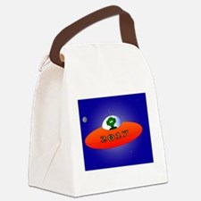 Cute New years Canvas Lunch Bag