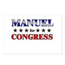 MANUEL for congress Postcards (Package of 8)