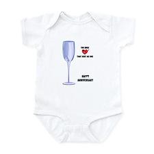 HAPPY ANNIVERSARY Infant Bodysuit
