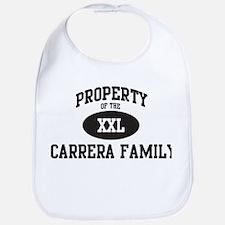Property of Carrera Family Bib