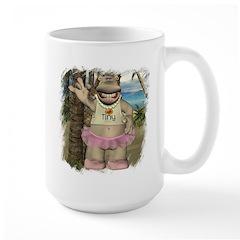 Heather Hippo Paradise Island Mug