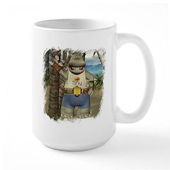 Heath Hippo Paradise Island Mug