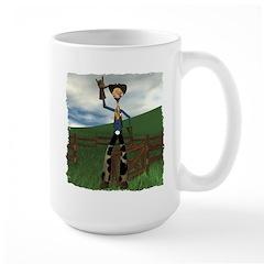 Hay Billy at the Ranch Mug