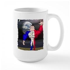 Alpha Man In Space Mug