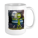 Al Alien In Space Large Mug
