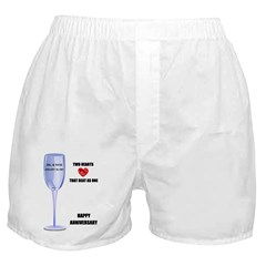 HAPPY ANNIVERSARY Boxer Shorts