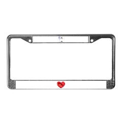 HAPPY ANNIVERSARY License Plate Frame