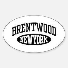 Brentwood NY Sticker (Oval)