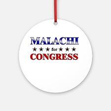 MALACHI for congress Ornament (Round)