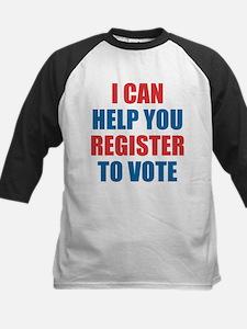I CAN HELP YOU REGISTER TO VOTE VOLUNTEER VOTER Ba