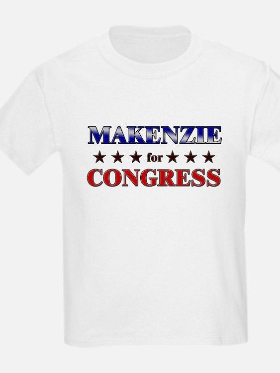 MAKENZIE for congress T-Shirt