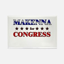 MAKENNA for congress Rectangle Magnet