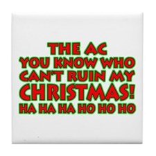 Support Christmas! Tile Coaster