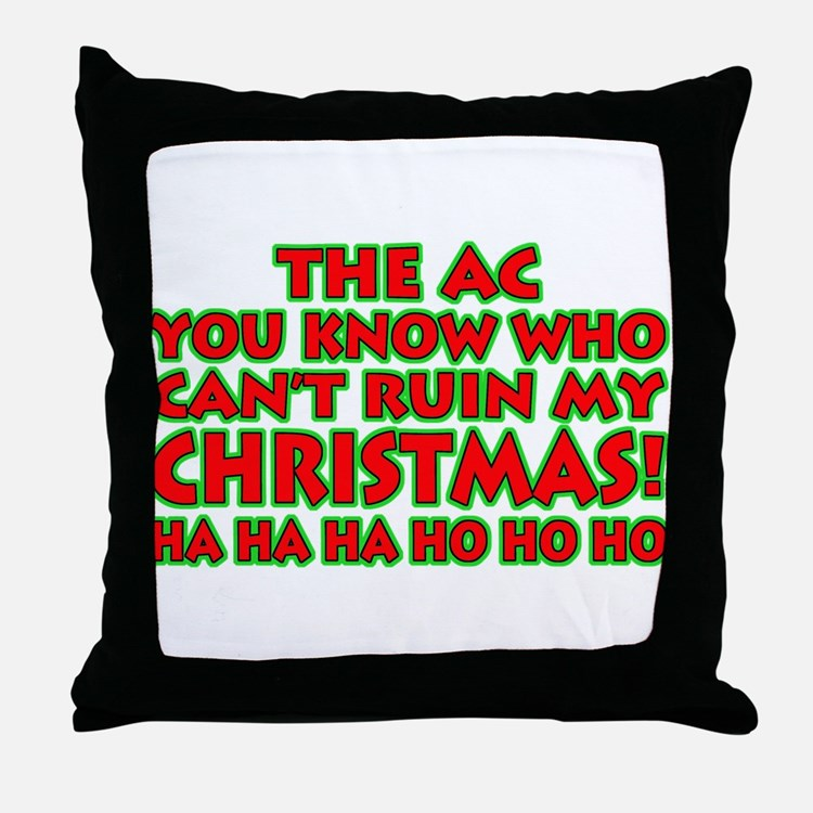 Support Christmas! Throw Pillow
