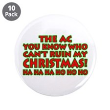 """Support Christmas! 3.5"""" Button (10 pack)"""