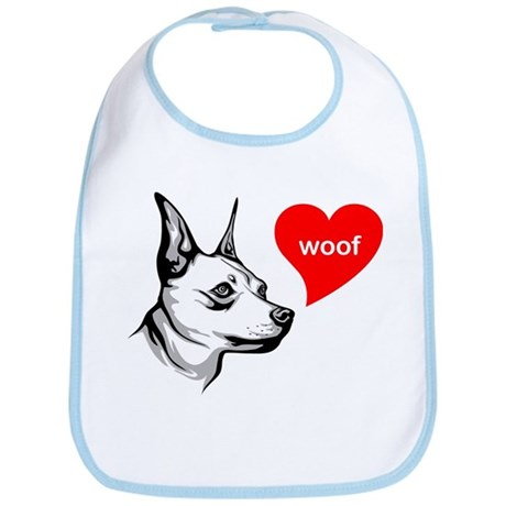 Miniature Pinscher Bib